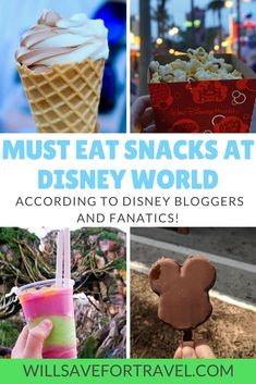 Will Save For Travel The Best Snacks At Disney World - Will Save For Travel