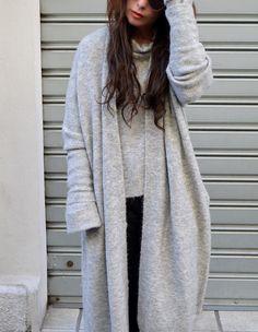 TOTAL OVER #ALYSI  #style #streetstyle #overtrend #sweater #overcoat #winterlook