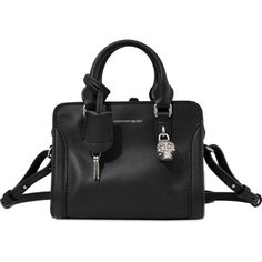 Alexander McQueen Mini Padlock Ziparound bag ($1,295) ❤ liked on Polyvore featuring bags, handbags, shoulder bags, black, handbags shoulder bags, shoulder handbags, zip around purse, purse shoulder bag and mini purses