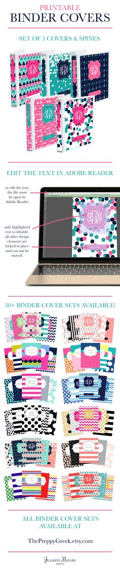 Are you ready to get organized? Printable Binder Covers are a perfect way to…