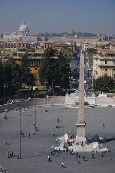 Piazza del Popolo,Rome,Italy