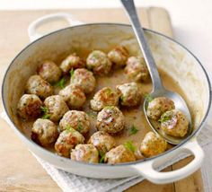 Photo: swedish meatballs Categories: Food And Drink Added: Description: swedish meatballs is creative inspiration for us. Get more photo about food and drink related with swedish meatballs by looking at photos gallery at the bottom of this page. Bbc Good Food Recipes, Yummy Food, Beef Recipes, Cooking Recipes, Drink Recipes, Recipies, Mince Recipes, Top Recipes, Swedish Meatball Recipes