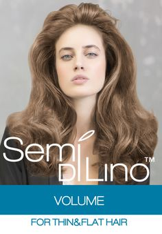 Semi Di Lino Volume is the newest addition to our new Semi Di Lino range and is comprised of three new products designed to tackle thin & flat hair: Magnifying Shampoo, Magnifying Conditioner, Magnifying Eco-Mousse.  Learn more: http://usa.alfaparf.com/section/products-and-services/care/semi-di-lino/semi-di-lino-volume