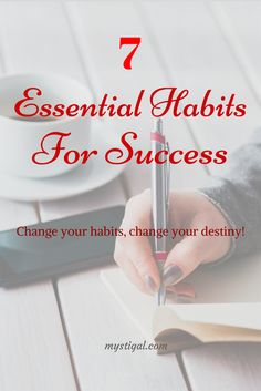 Habits shape your future. Make sure you have cultivated the right habits. These are the top 7 life changing habits that will take you massive success. #habits #success