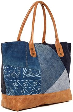 Will Leather Goods Batik Patchwork Tote