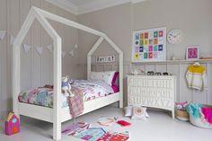 House Bed Frame - Kids' Bedroom Ideas & Design (houseandgarden.co.uk)