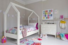 House Bed Frame - Kids' Bedroom Ideas & Design (houseandgarden.co.uk)