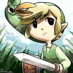 Zelda Minish Cap Beneath The Grass - mouse drawn by =HyLian-Of-Ooo on deviantART