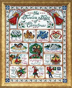 Design Works Crafts 12 Days of Christmas Counted Cross St... https://smile.amazon.com/dp/B00AQGFLB6/ref=cm_sw_r_pi_dp_x_ImfnybNF37SS8