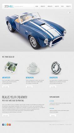 3d Mill Joomla 2.5 Template Template 44310 http://www.zign.nl/