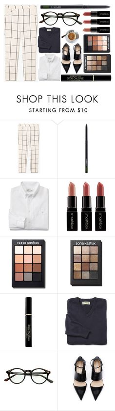 """Sin título #1302"" by miica-olavarria ❤ liked on Polyvore featuring MANGO, MAC Cosmetics, Oxford, Smashbox, Sonia Kashuk and Max Factor"