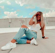 Teenage Outfits, Teen Fashion Outfits, Mode Outfits, Outfits For Teens, Girl Outfits, Trendy Summer Outfits, Cute Comfy Outfits, Stylish Outfits, Model Poses Photography
