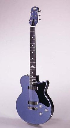 Yanuziello blue electric guitar - very sweet...