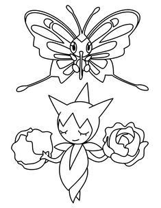 Free Pokemon Advanced Coloring Page Pages 203 Printable