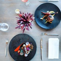 What happens when you combine great food with great style? You get this gorgeous set up - Real Food Recipes, Great Recipes, Growing Seeds, Healthy Lifestyle, Food Porn, Trends, Dishes, Photo And Video, Dining