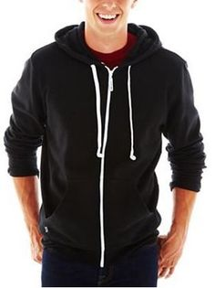 HoodieBuddie Men's Hoodie Buddie Zip Jacket Sweatshirt Earbuds - Listing price: $49.99 Now: $29.99