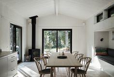Scandinavian Cabin, Scandinavian Interior, Interior Styling, Interior Design, House Built, Minimalist Interior, Open Plan Living, Dining Room Design, Building A House