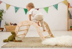 Pikler Climbing Arch for babies / Pikler inspired Arch /