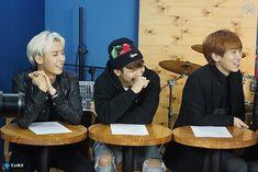 Minhyuk, Hyunsik and Eunkwang BTOB THE BEAT Episode 6.