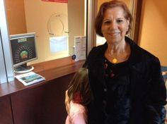 """#parlailpubblico #TeatriDiCivitanova """"Mia nipote si diverte molto a teatro e ci chiede sempre di andare.Oggi la sua mamma è al lavoro ed io ho voluto farle questo regalo""""(nonna Cecilia di Civitanova Alta)  16 marzo 2014."""