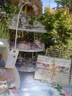 Getting ready for Lovely and Vintage Wedding Fayres