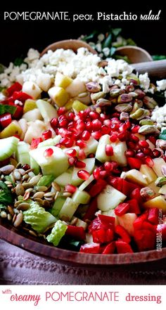 Pomegranate-Pistachio-Pear-Salad-with-Pomegrante-Dressing-main4