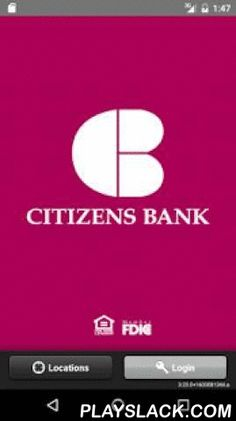 Citizens Bank - CB Mobile  Android App - playslack.com ,  With the Citizens Bank Mobile app you can easily take your banking with you. As a customer of Citizens Bank, you can use your Android to make routine transactions anytime, from anywhere. Check your balances, pay bills, transfer money and locate our branch locations throughout Oregon.Our mobile app is convenient to use, it's fast and it's free!Some features with this app include:- Check account balances- View account history- Initiate…