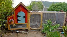 Ethel & Elsie's Chicken Coop Build | Urban Gnome SF