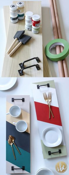 awesome Create this DIY SERVING TRAY to match your style and home decor, with precut woo... by http://www.best99-home-decorpics.us/homemade-home-decor/create-this-diy-serving-tray-to-match-your-style-and-home-decor-with-precut-woo/ #DIYHomeDecorWood