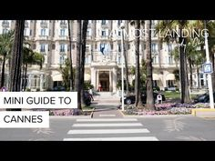 Cannes is one of the many beautiful places along the French Rivera, famous for being the home to the Annual Cannes Film Festival. Our mini guide to Cannes..
