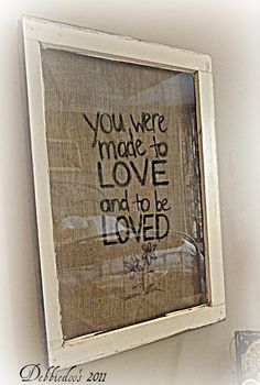 I love this saying! :) Another cute pic to make with music letters then just buy a cute frame for it.