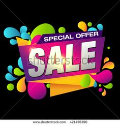 Special Offer Sale Banner. Summer Sale and Clearance Card. Sale and Discounts Background. Holiday Sale. Summer Sale Design Template. Sale Sticker. Sale Label. Fashion Big Sale. Weekend Sale.Super Sale - stock vector