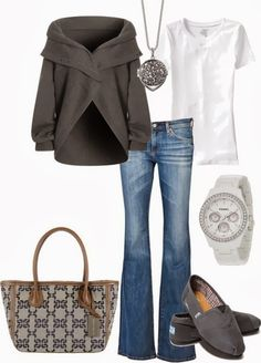 Winter fashion outfit collection with wrap sweater