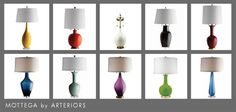 Mottega by Arteriors: 5 Easy Steps to Design Your Lamp. Ships in 72 Hours.