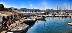 La #Marina. #PortoRotondo, tecnicamente è #Olbia e NON #CostaSmeralda che è #Arzachena. #sardignagalana
