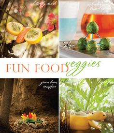 CREATIVE PARTY DOOD IMAGES | fun & creative veggie party food