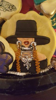 Birthday party Beyonce cookies..loveeeeee it...