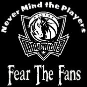 New Custom Screen Printed T-shirt Dallas Mavericks Never Mind Th