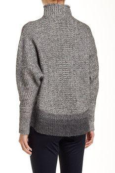 Elie Tahari Mabelle Wool Blend Sweater