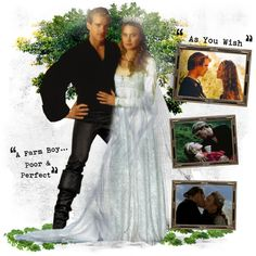 """Wesley & Buttercup - The famous wedding dress from """"The Princess Bride"""""""