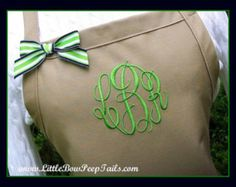 Monogrammed Purple Apron - Personalized Dark Purple Aprons Monogram Apron Gift Brides Aprons Lavender Orchid Aprons with Ribbon Bows Bakers   Our elegant personalized and monogrammed purple apron stands out from the others.  Perfect for Mothers Day or Birthdays, our elegant monogrammed and embroidered apron is a beautiful gift for Mom, Grandma, Sister, Friend or any baker or cook in your life. This apron fits teens to adults well and makes a beautiful gift to the cook in your life. Shell…