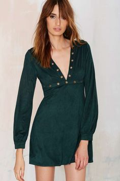 Jacqueline suede dress