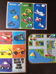 #Busybags- these are all sooo cute! printable car mat