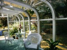 Inspirational Curved Eave Sunroom