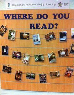 Where do you read?