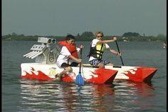 cardboard boat designs | Of course motors were not allowed,