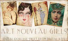 Art Nouveau prints - Google Search