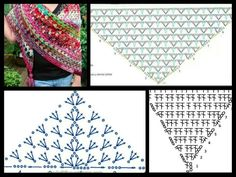 Shawl diagrams