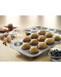 12-c. Nonstick Muffin Pan by USA Pans