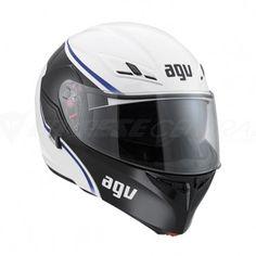AGV Compact Course White / Blue